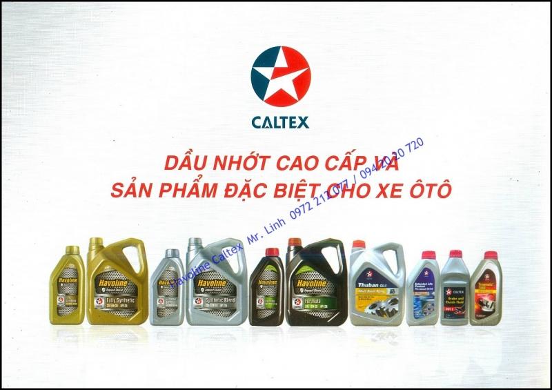 Caltex - thương hiệu dầu nhớt nổi tiếng tại thị trường Việt Nam