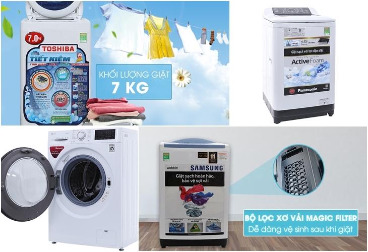 Top 7 thương hiệu máy giặt tốt nhất năm 2018