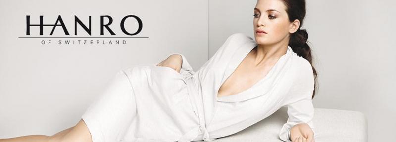 Phong cách thời trang trắng của thương hiệu Hanro