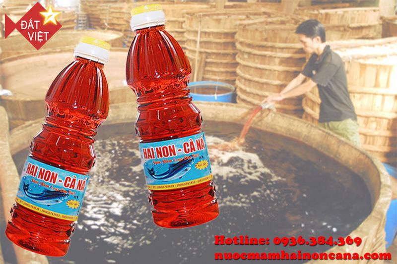 Cà Ná - nước mắm ngon của người Việt