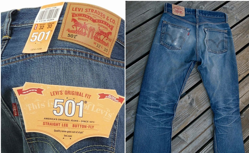 Quần bò Levi Strauss & Co. 501