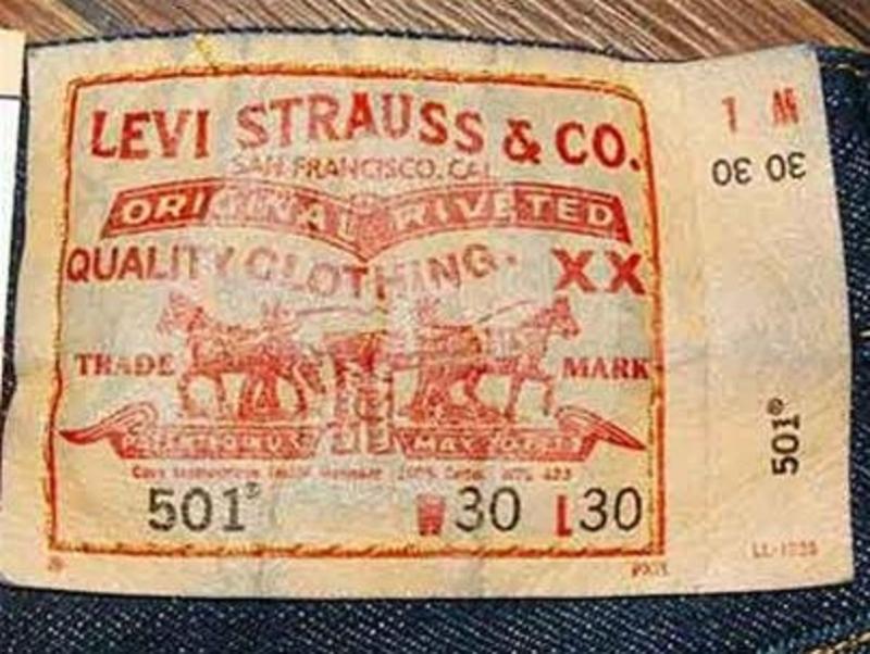 Mác quần bò Levi's 501 là một trong những mẫu quần thành công nhất của Levi Strauss