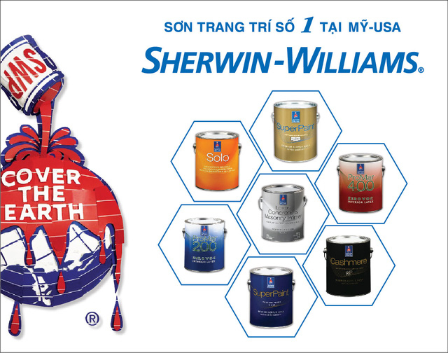 Sơn Sherwin William (MỸ)