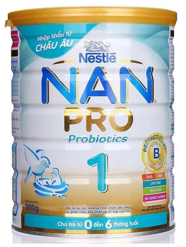 Sữa Nan Pro số 1