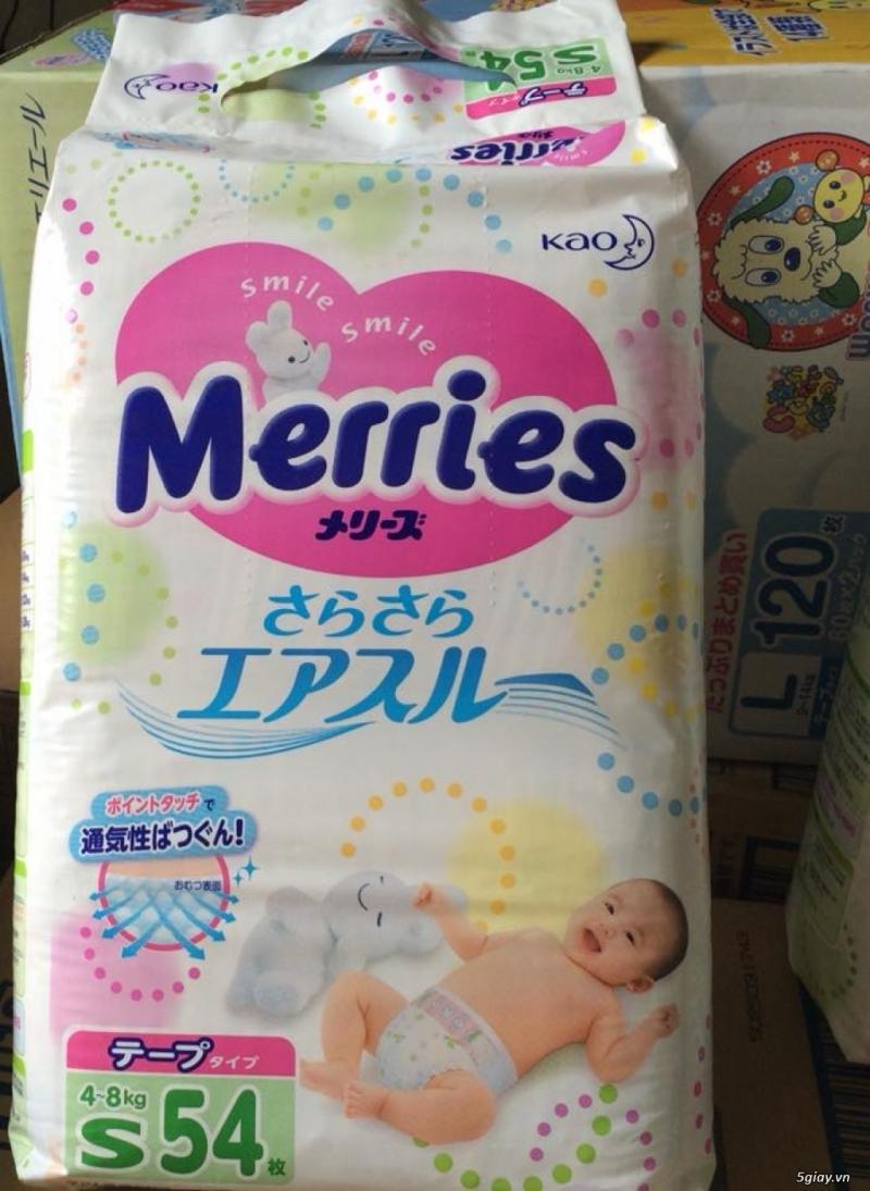 Tã thương hiệu Merries