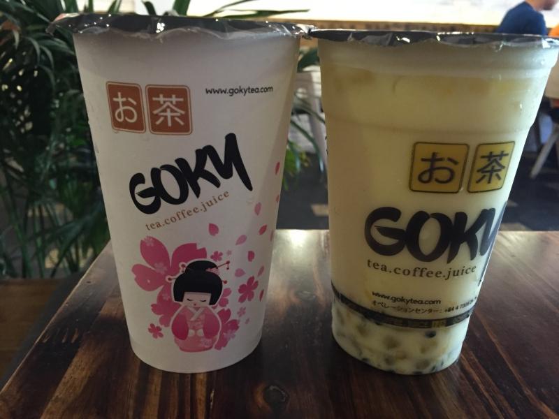 Thương hiệu nhượng quyền trà sữa Goky