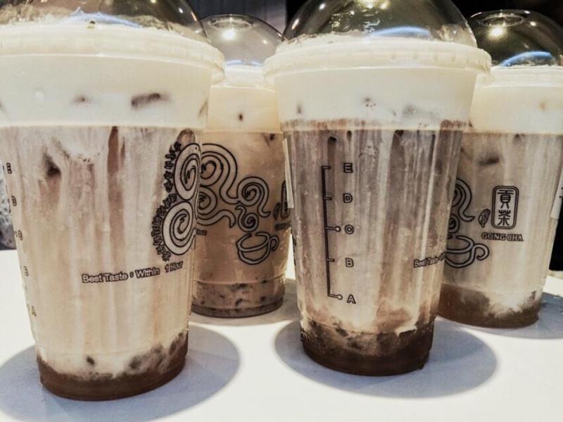 Thương hiệu nhượng quyền trà sữa Gong Cha.