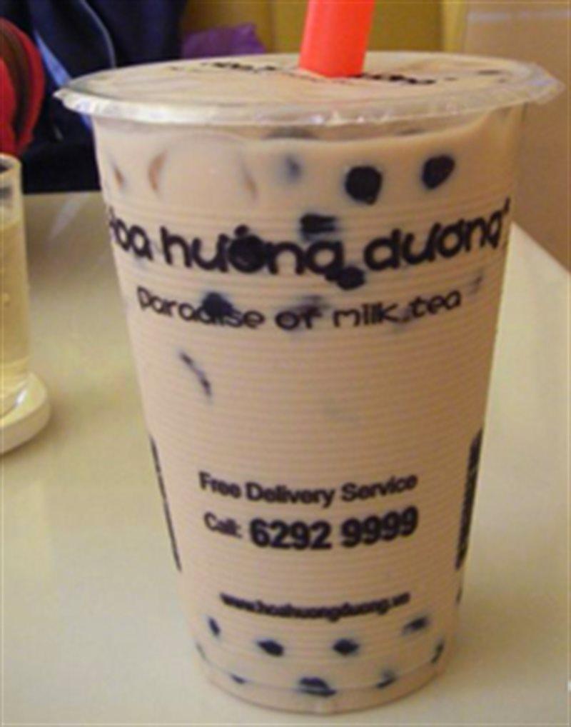 Thương hiệu nhượng quyền trà sữa Hoa Hướng Dương.