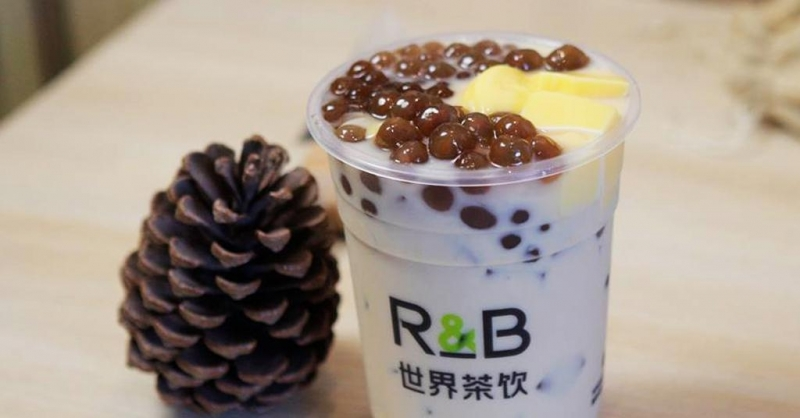 Thương hiệu nhượng quyền trà sữa R&B.