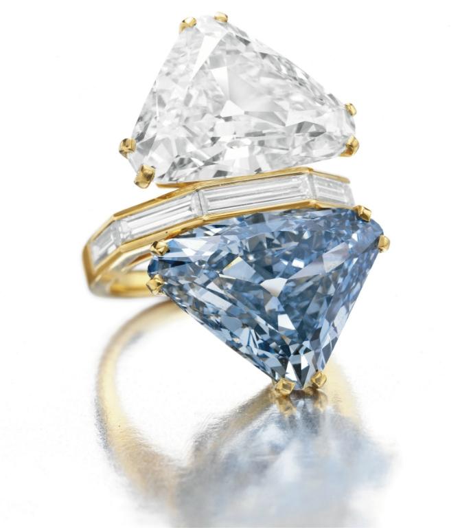 Chiếc nhẫn Bvlgari Blue có giá lên tới 15,7 triệu USD