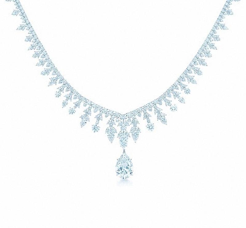 Chiếc vòng kim cương Majestic cuốn hút