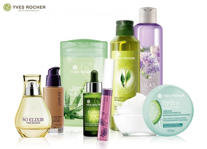 Yves Rocher - thương hiệu mỹ phẩm đến từ Pháp, có thành phần từ thiên nhiên