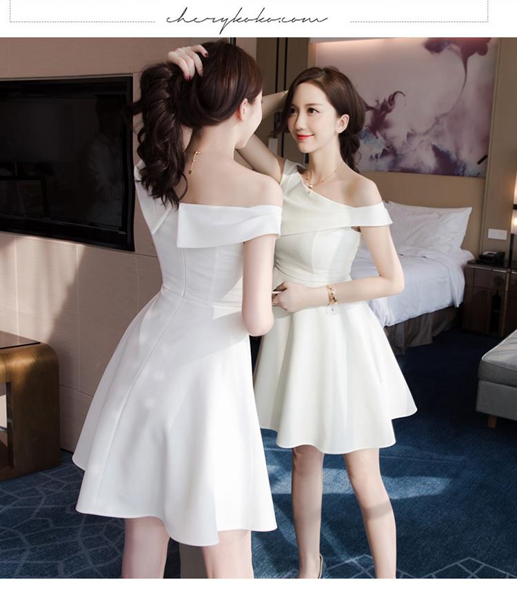 Váy trắng sang chảnh