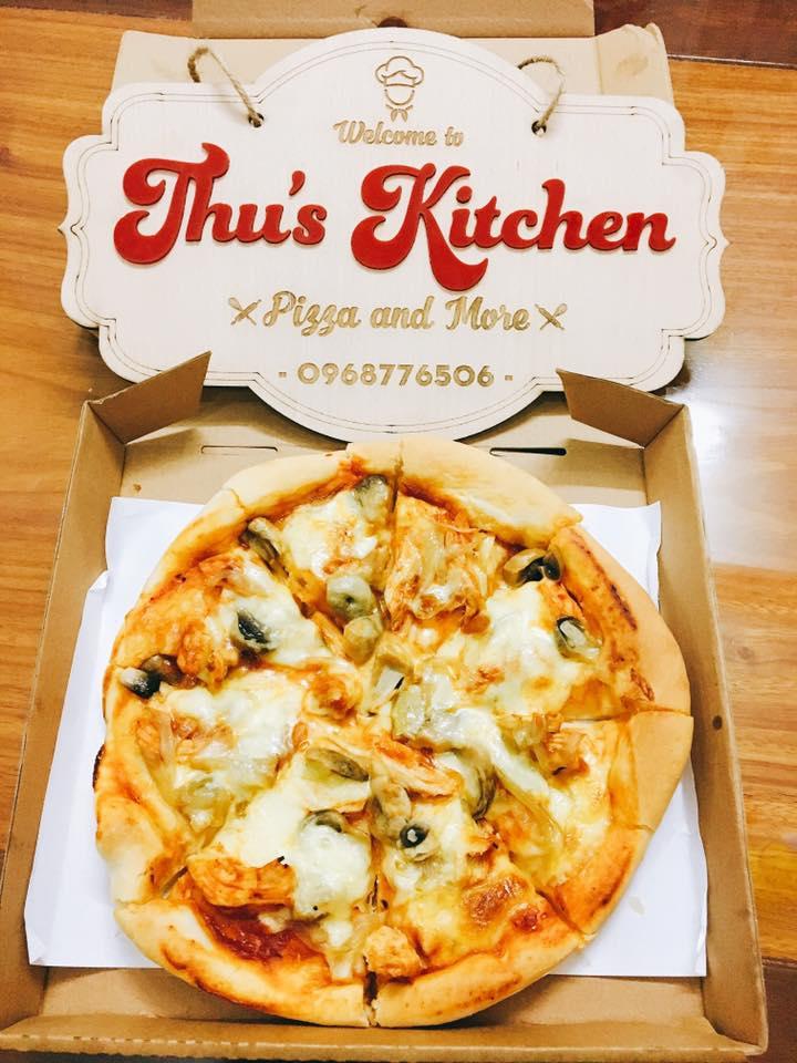 Bánh pizza thơm ngon hấp dẫn của Thu's Kitchen