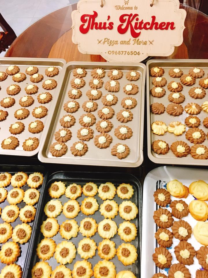 Các loại bánh quy được bán tại Thu's Kitchen