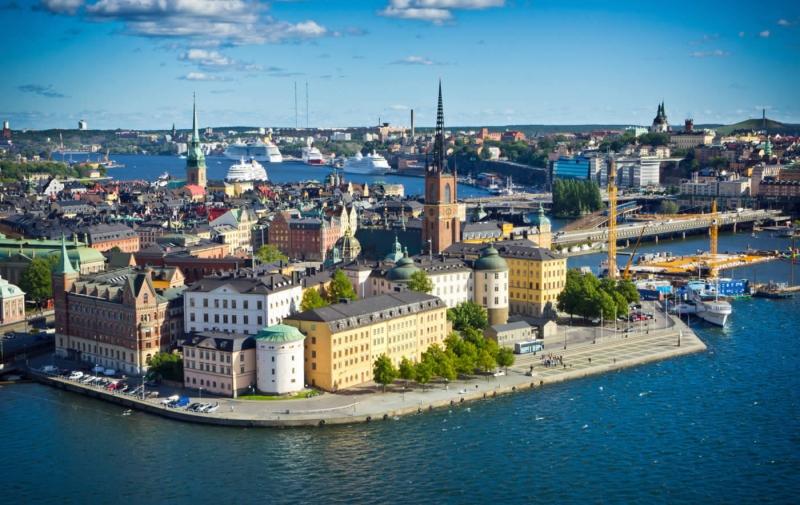 Tỉ lệ tội phạm thấp khiến người dân và khách du lịch cảm thấy an toàn khi ở Thụy Điển.