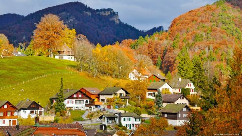 Cảnh quan đẹp lộng lẫy của Thụy Sĩ