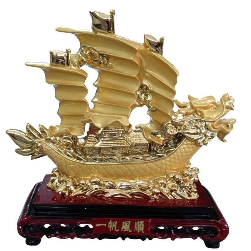 Thuyền buồm đầu rồng mang lại tiền tài theo phong thủy