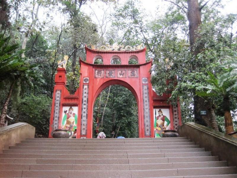 Thuyết minh về di tích lịch sử Đền Hùng - Phú Thọ