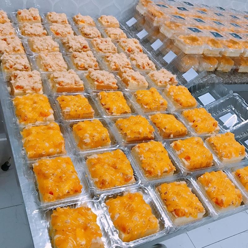 Sản phẩm bánh thơm ngon, hấp dẫn tại Ti Bơ Bakery