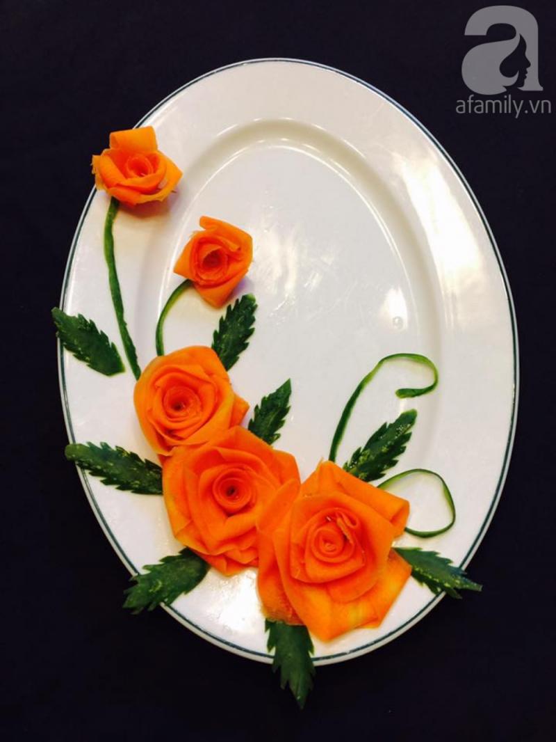 Tỉa hoa hồng cánh cuốn