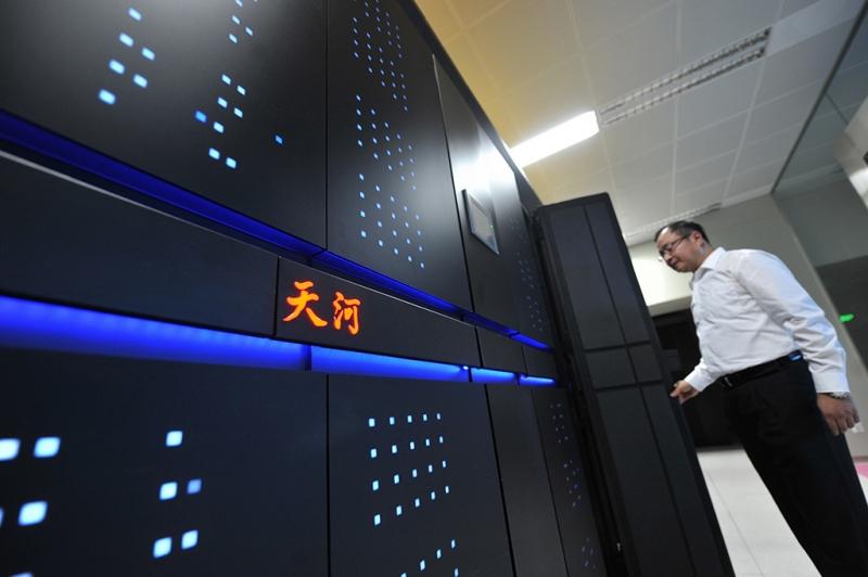 Tianhe-2: siêu máy tính mạnh nhất hiện nay