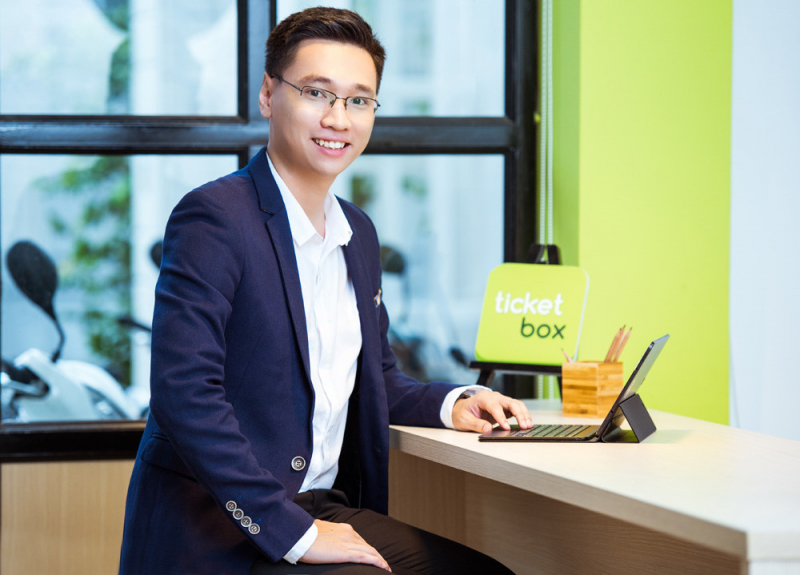 Mike Trần - người sáng lập Ticketbox