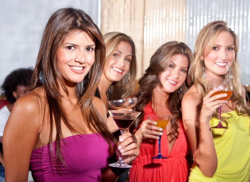 Tiệc dành riêng cho nữ giới