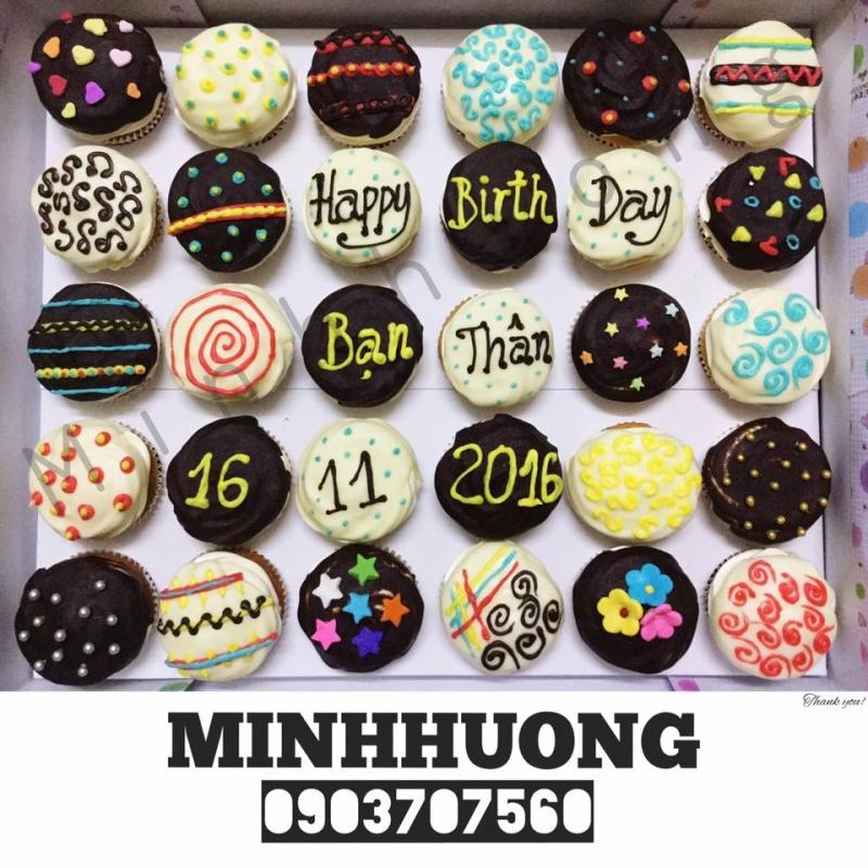 Cupcake là một điểm mạnh của Tiệm bánh Minh Hương