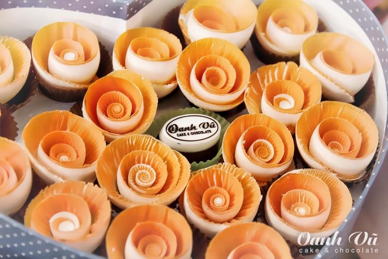 Hoa hồng được làm từ kem