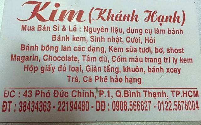 Cửa hàng Kim - Khánh Hạnh