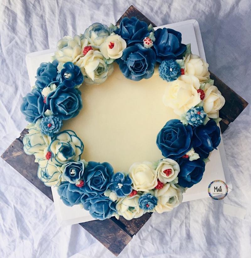 MaDi với một mẫu bánh cực kỳ cầu kỳ và tỉ mỉ