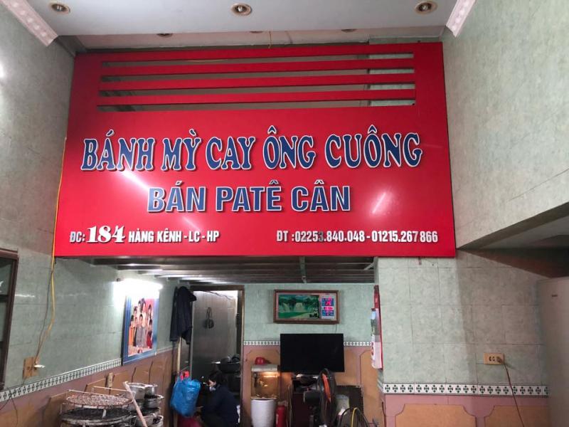 Tiệm bánh mỳ cay Ông Cuông