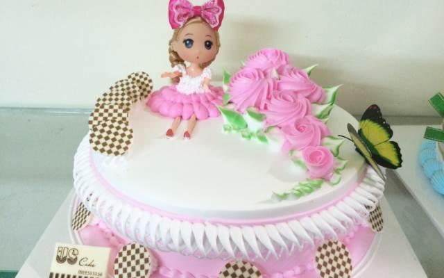 Bánh kem trang trí rất đẹp