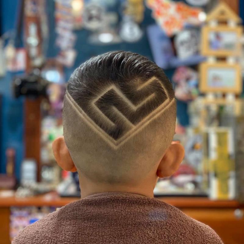 Tóc của khách sau khi làm tại Vũ Trí