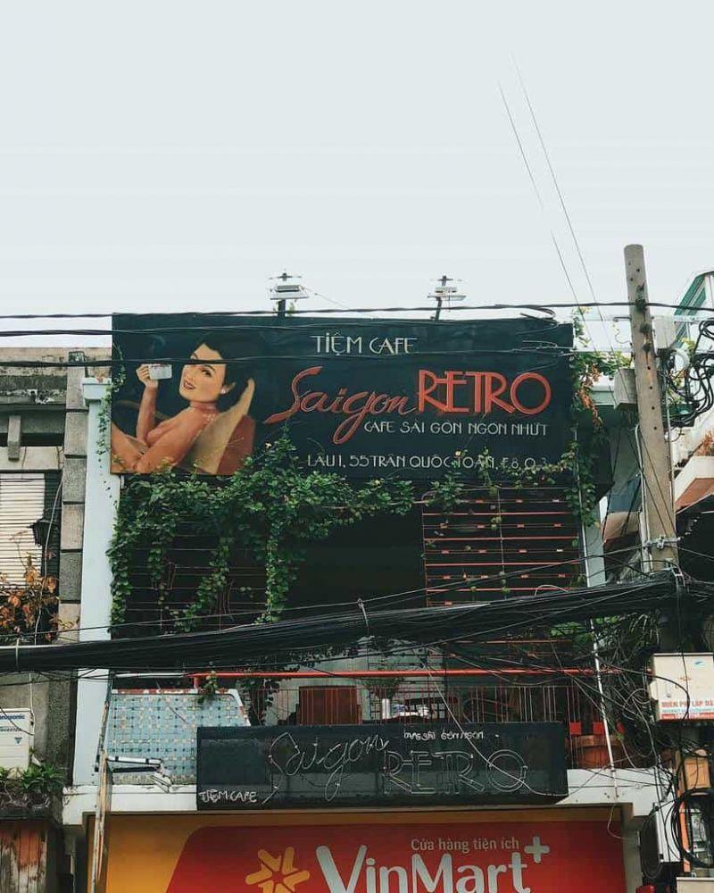 Tiệm Cafe Saigon Retro