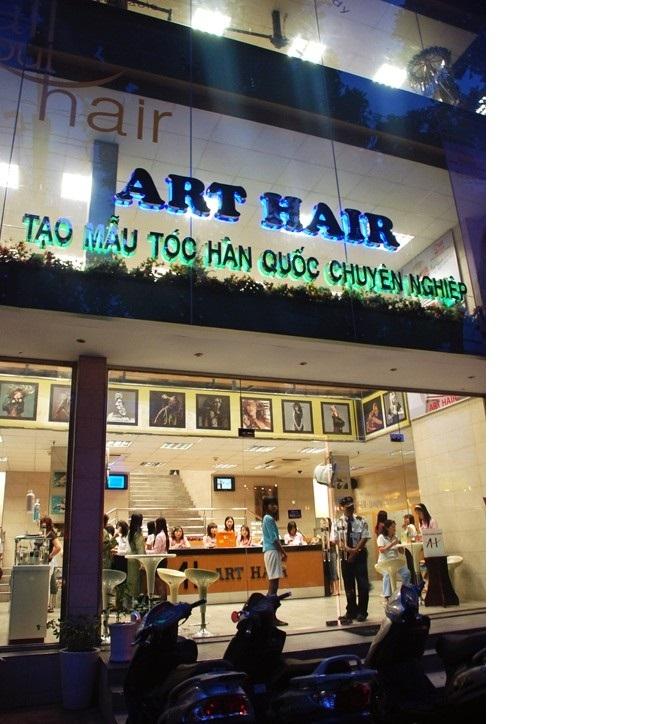 Tiệm cắt tóc Art Hair
