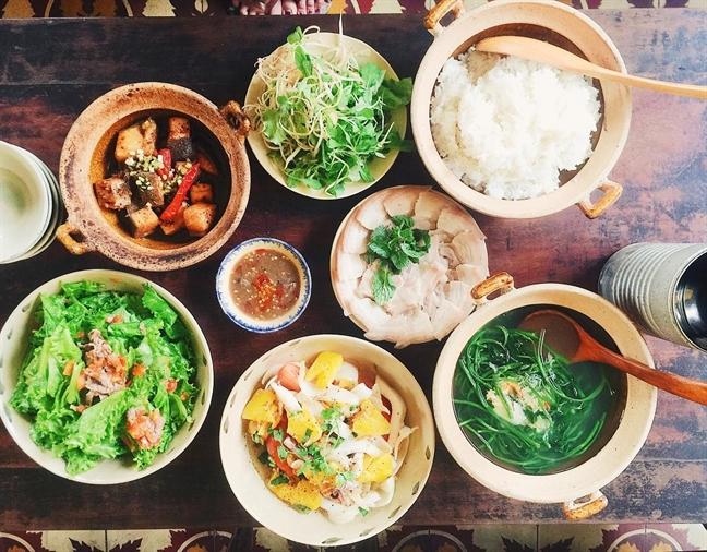 Bữa ăn mang đậm hương vị xứ Quảng