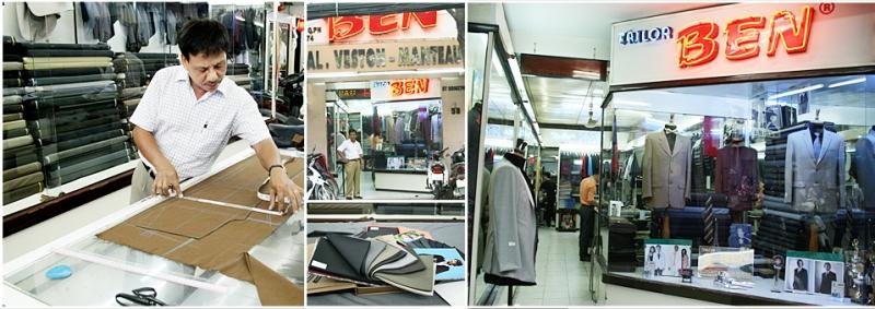 Tiệm may Ben tuy đã hơn 30 tuổi nhưng vẫn giữ được khách hàng
