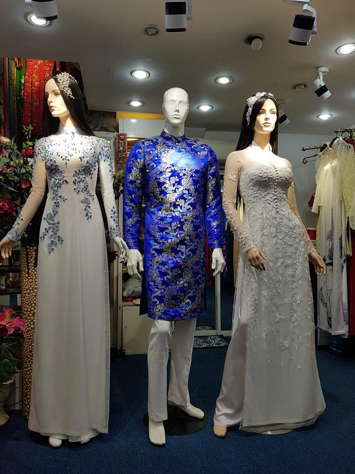 Tiệm Nam Anh – Chuyên cho thuê áo dài cưới đẹp nhất Phú Thọ