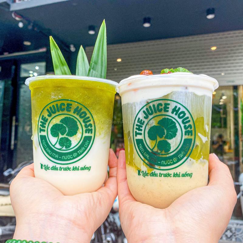 Tiệm Rau Má - The Juice House 63 Ô Chợ Dừa