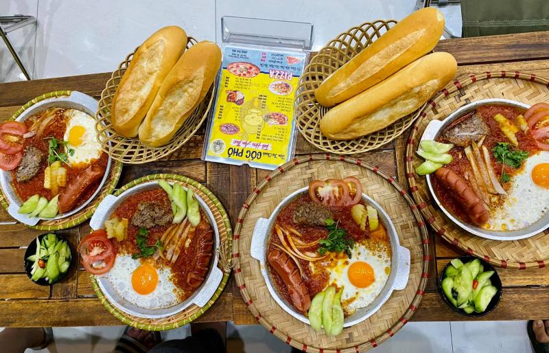 Tiệm trà chanh Góc Phố
