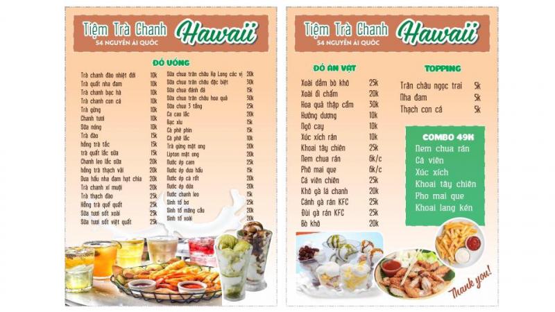 Tiệm Trà Chanh - Hawaii