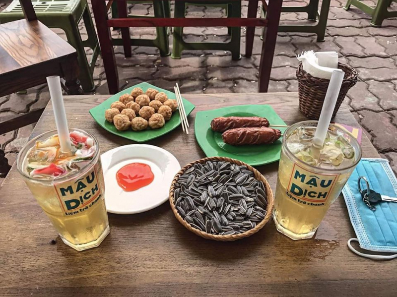 Tiệm trà chanh MẬU DỊCH