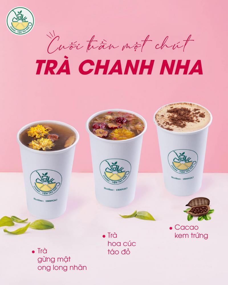 Tiệm trà chanh Phố