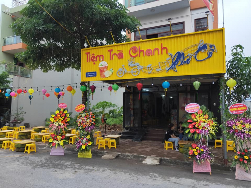 Tiệm Trà Chanh Phố Cổ - Khoái Châu