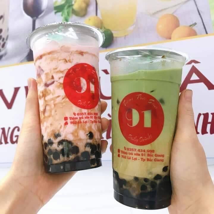 Tiệm trà sữa 91 Bắc Giang