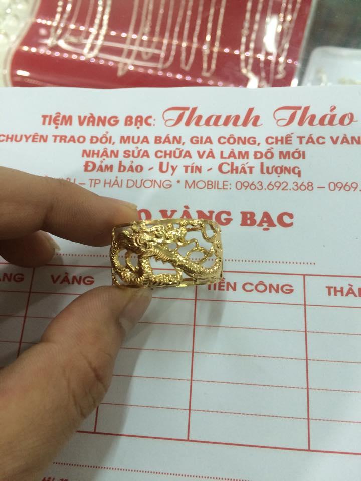 Giấy tờ mua bán tại Tiệm Vàng Bạc Thanh Thảo