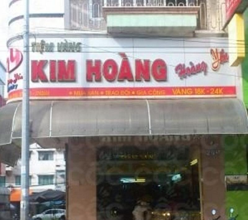Tiệm vàng Kim Hoàng - Hoàng Yến