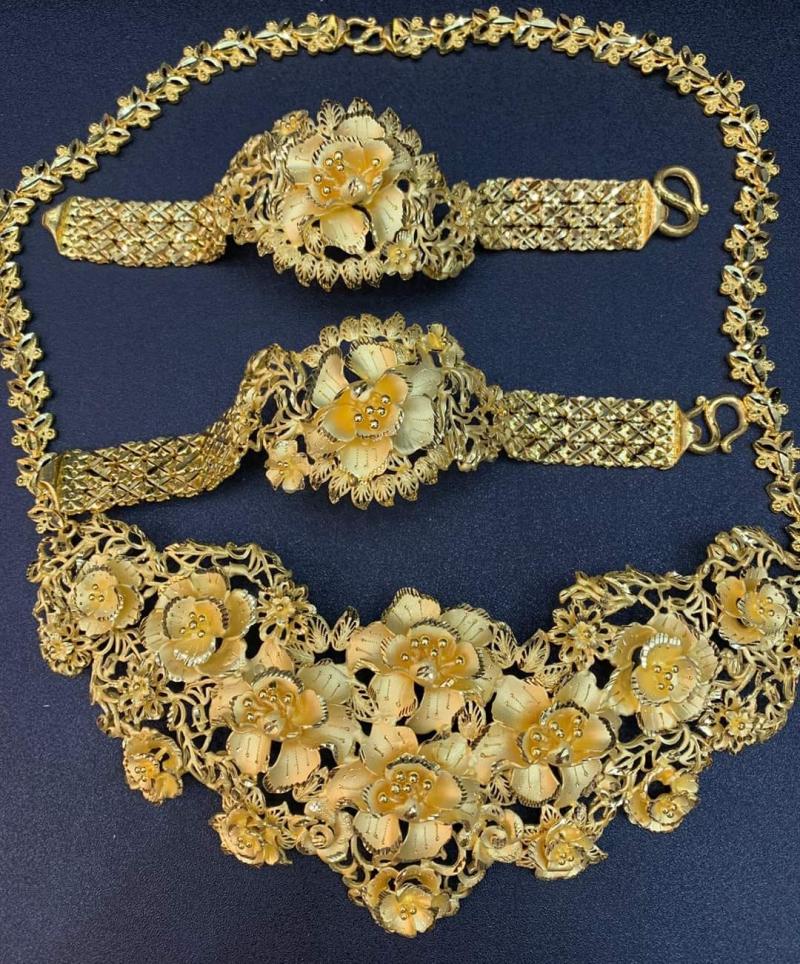 Bộ vàng cưới tại tiệm vàng Vương Tỷ 2